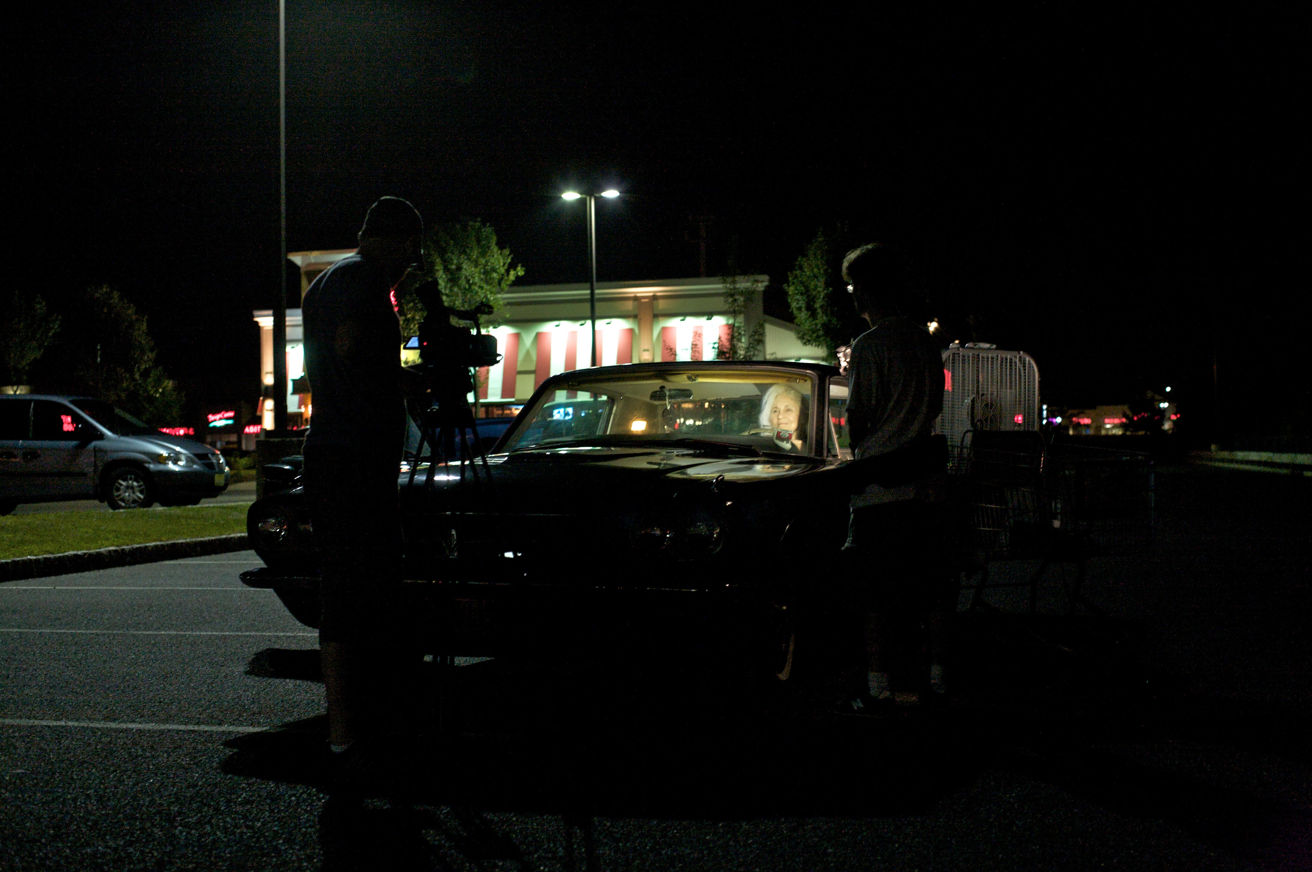 parking lot night