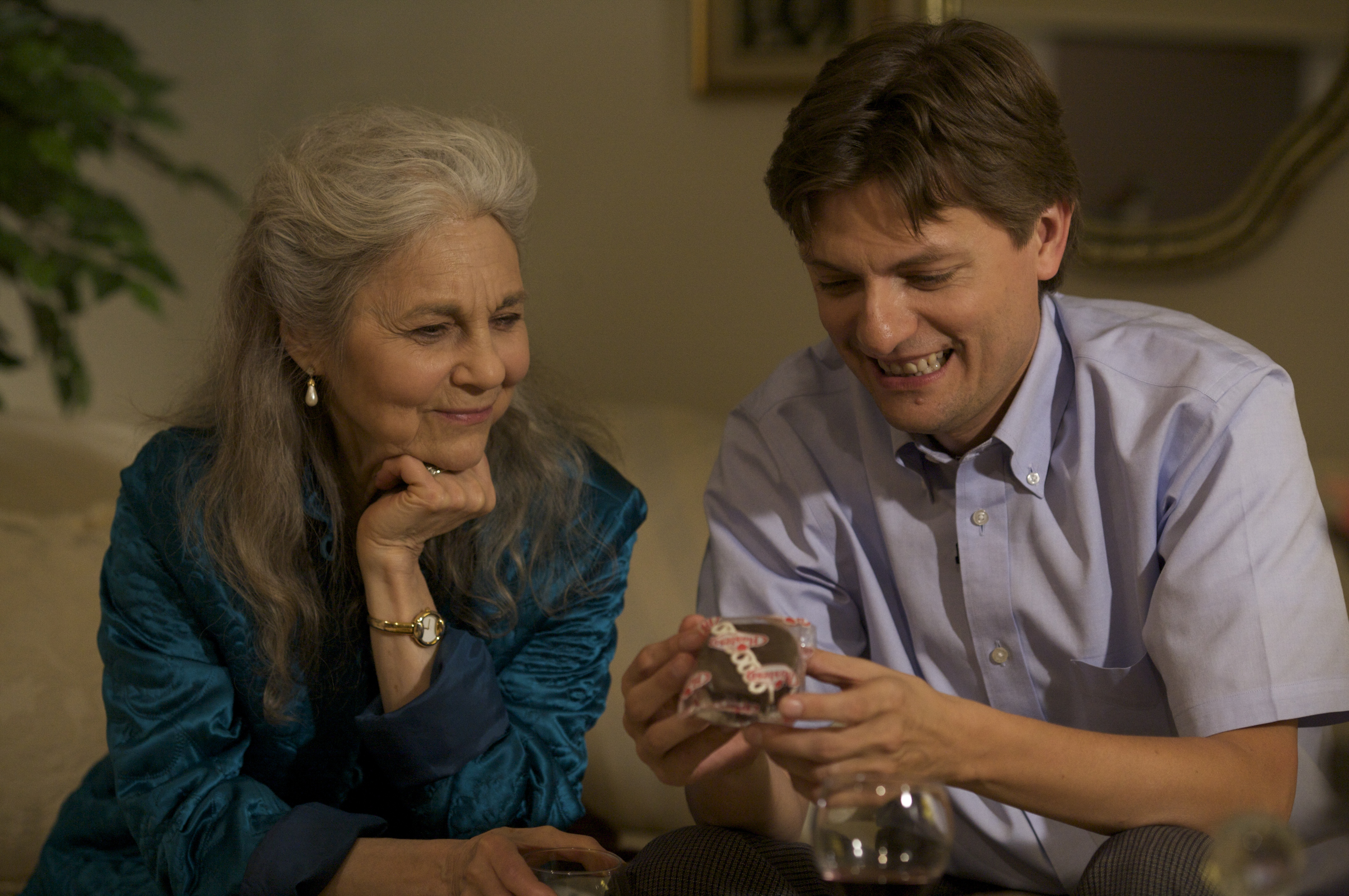 Lynn Cohen and James Urbaniak